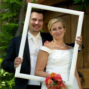Photo frame wedding