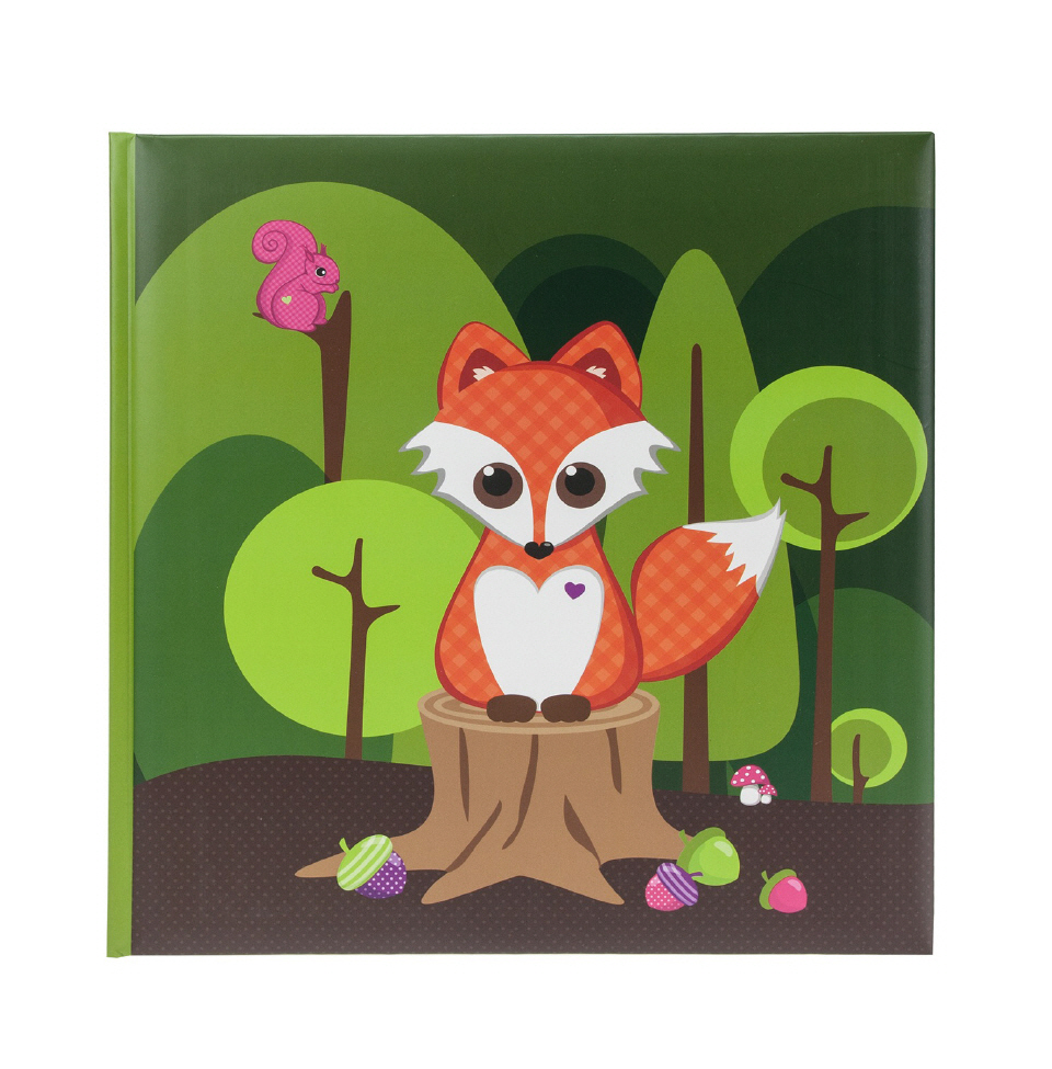 Children's album Little Fox - photo book