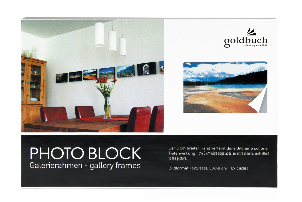 Goldbuch_picture_frame_PHOTO_BLOCK_grey_30/40