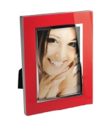 Picture frame BELLA VISTA 10/15 red