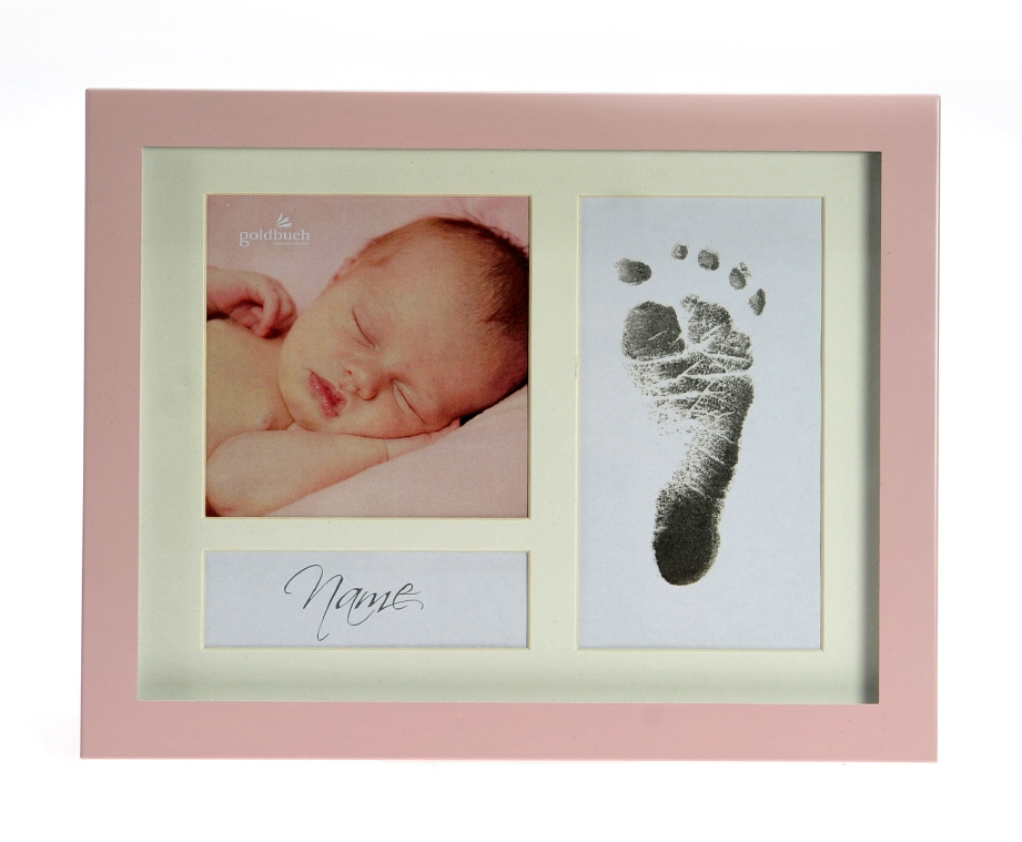 Goldbuch_picture_frame_FIRST_STEPS_pink