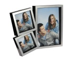 Picture frame LA VITA black - 3 photos
