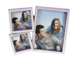 Picture frame LA VITA lilac - 3 photos