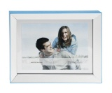 Picture frame LIGHT blue 10/15