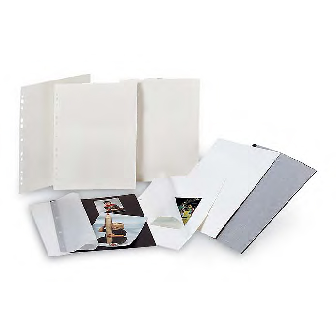 goldbuch cardboard pages - white