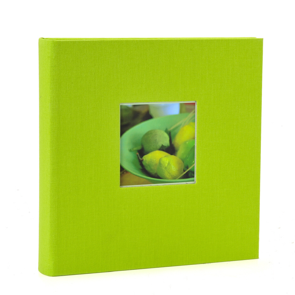 Goldbuch slip-in album Bella Vista green