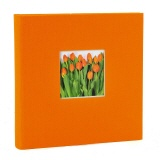 Slip-in album Bella Vista orange