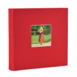Slip-in album Bella Vista red