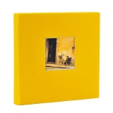 Slip-in album Bella Vista yellow