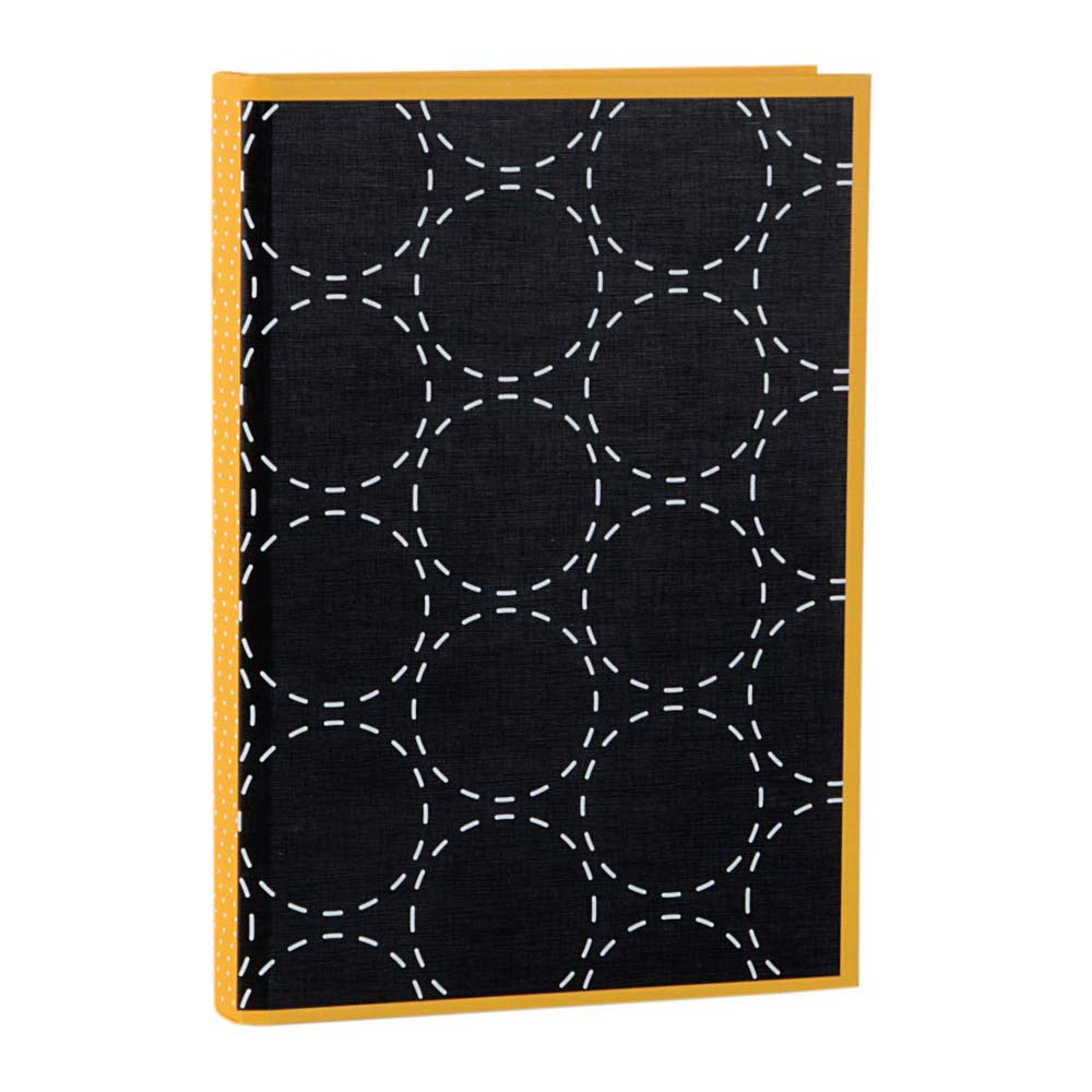 Notebook Off-Line black/yellow - DIN A5