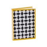 Notebook Off-Line black/yellow - DIN A6