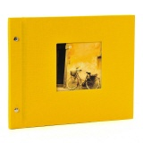 Post bound album Bella Vista 30/25 yellow