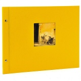 Post bound album Bella Vista 39/31 yellow