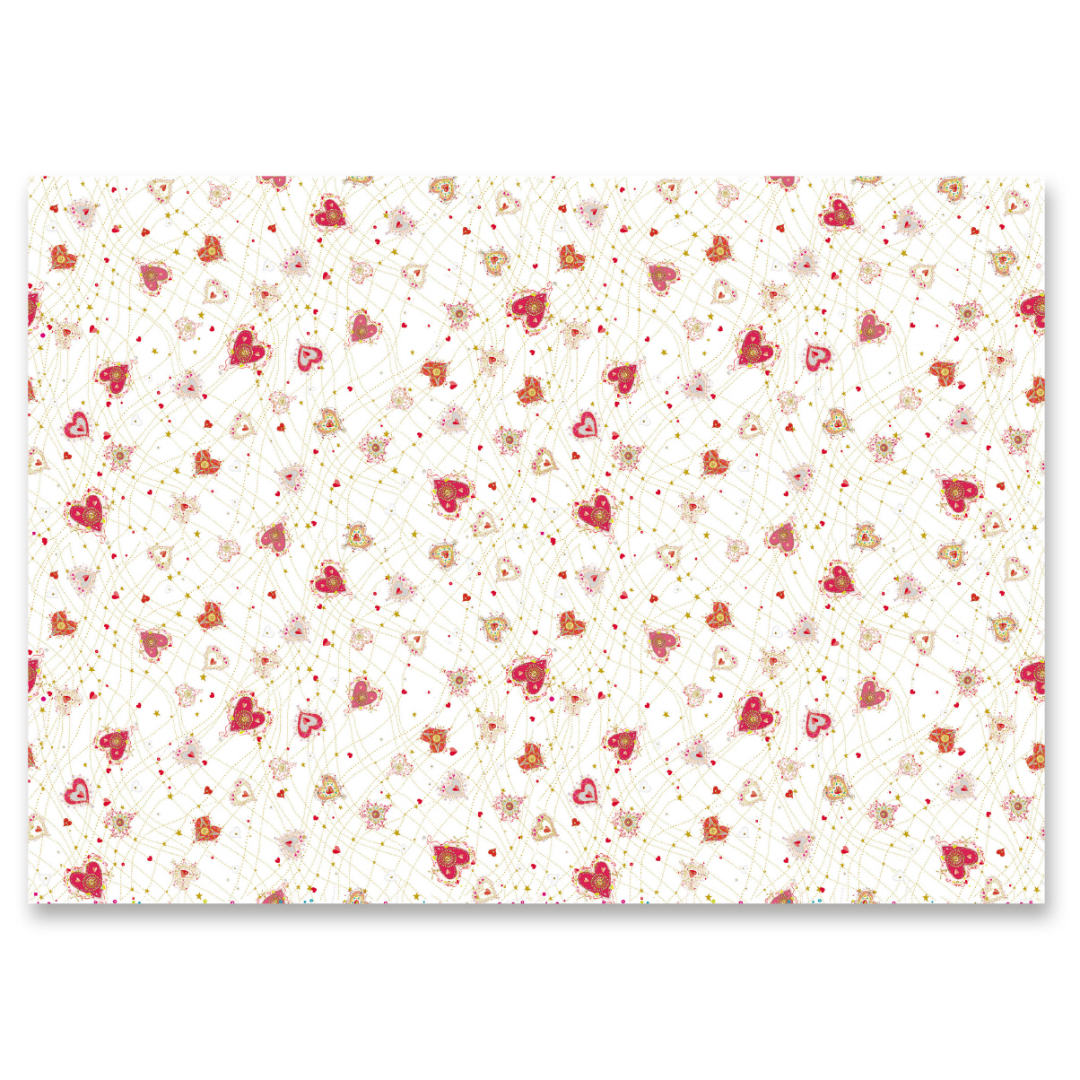Turnowsky gift wrap Little Hearts