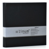 Slip-in album Linum 935 black - 200 photos