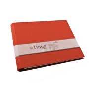 Guest book Linum 927 red