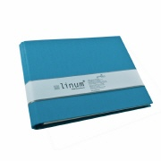 Guest book Linum 918 turquoise