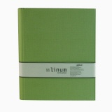 LINUM ring binder 921 light green 4 rings