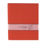 LINUM ring binder 927 red 4 rings
