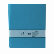 LINUM ring binder 918 turquoise 4 ring