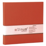 Slip-in album Linum 927 red - 200 photos