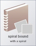 Spiral albums for babies