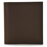 Semikolon 4-Ring Photograph File brown