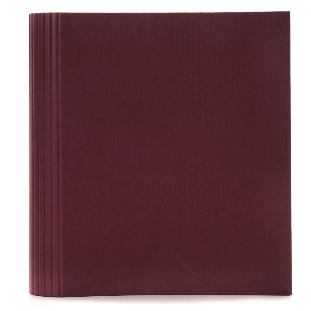 semikolon ring binder PHOTO burgundy