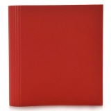 Semikolon 4-Ring Photograph File red