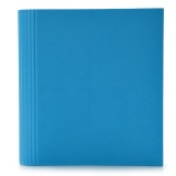 Semikolon 4-Ring Photograph File turquoise