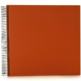 Spiral album Economy large orange