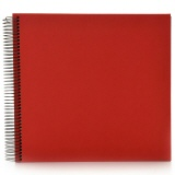 Spiral album Economy large red