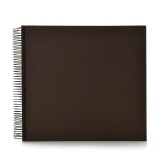 Spiral album Economy medium brown