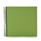 Spiral album Economy medium lime
