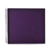 Spiral album Economy medium plum