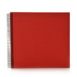 Spiral album Economy medium red