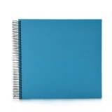 Spiral album Economy medium turquoise