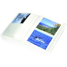 slip-in album with memo labels