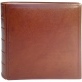 TeBe photo book design no. 10 leather cognac-brown