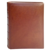 TeBe photo book design no. 2 leather cognac-brown