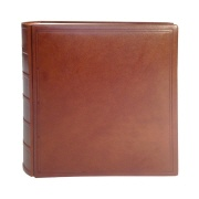 TeBe photo book design no. 8 leather cognac-brown