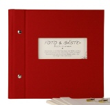 Photo album & guest book Vario 25/25 bordeaux