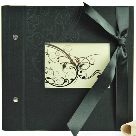 Photo album Tendril Window 25/25 black