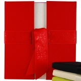 Guest book Portes red