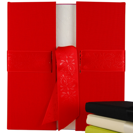v. transehe guest book PORTES red